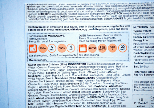How will Brexit affect food labelling?