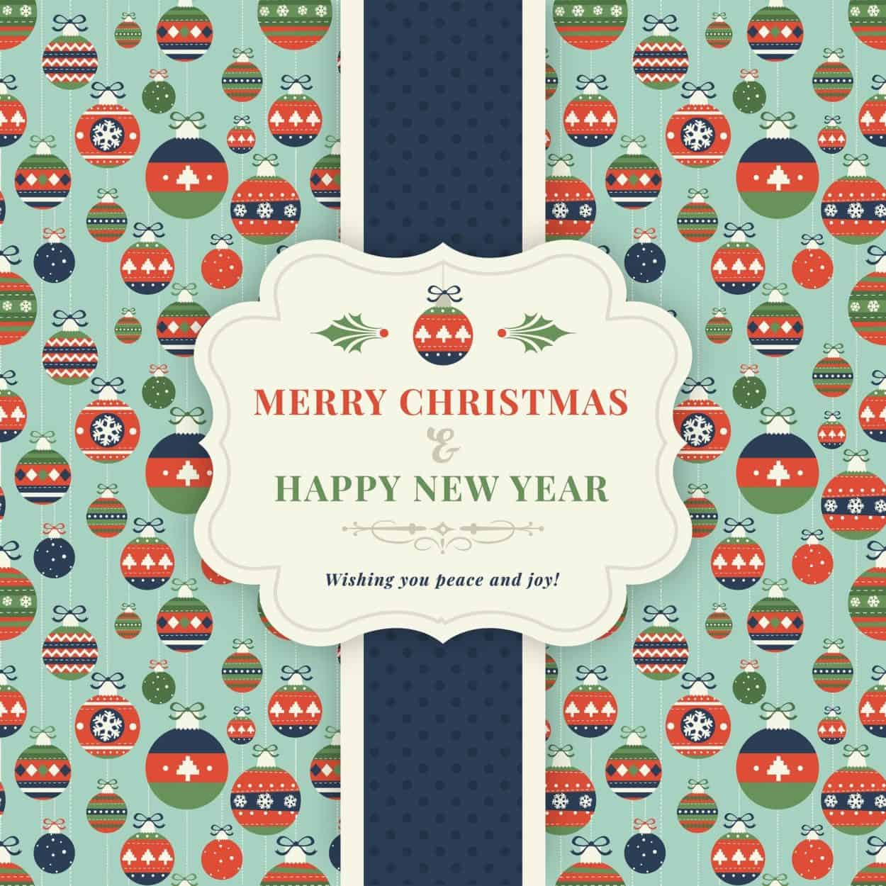Christmas Self Adhesive Label Print Deadline