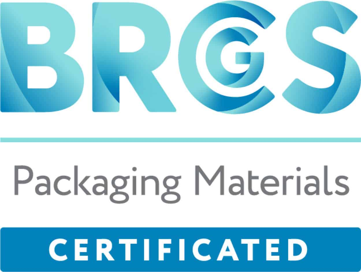 BRCGS Packaging Materials Certified logo