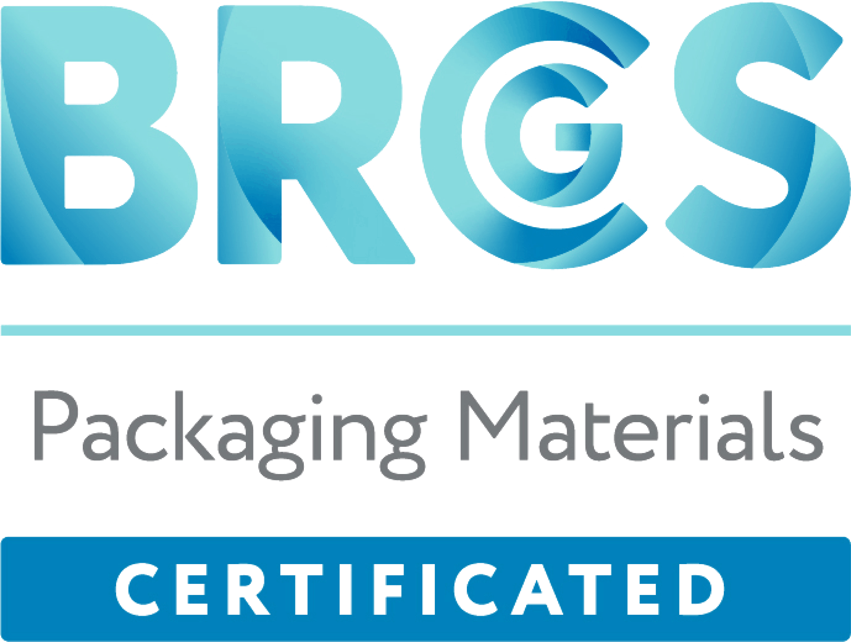 BRCGS Packaging Materials Certificated